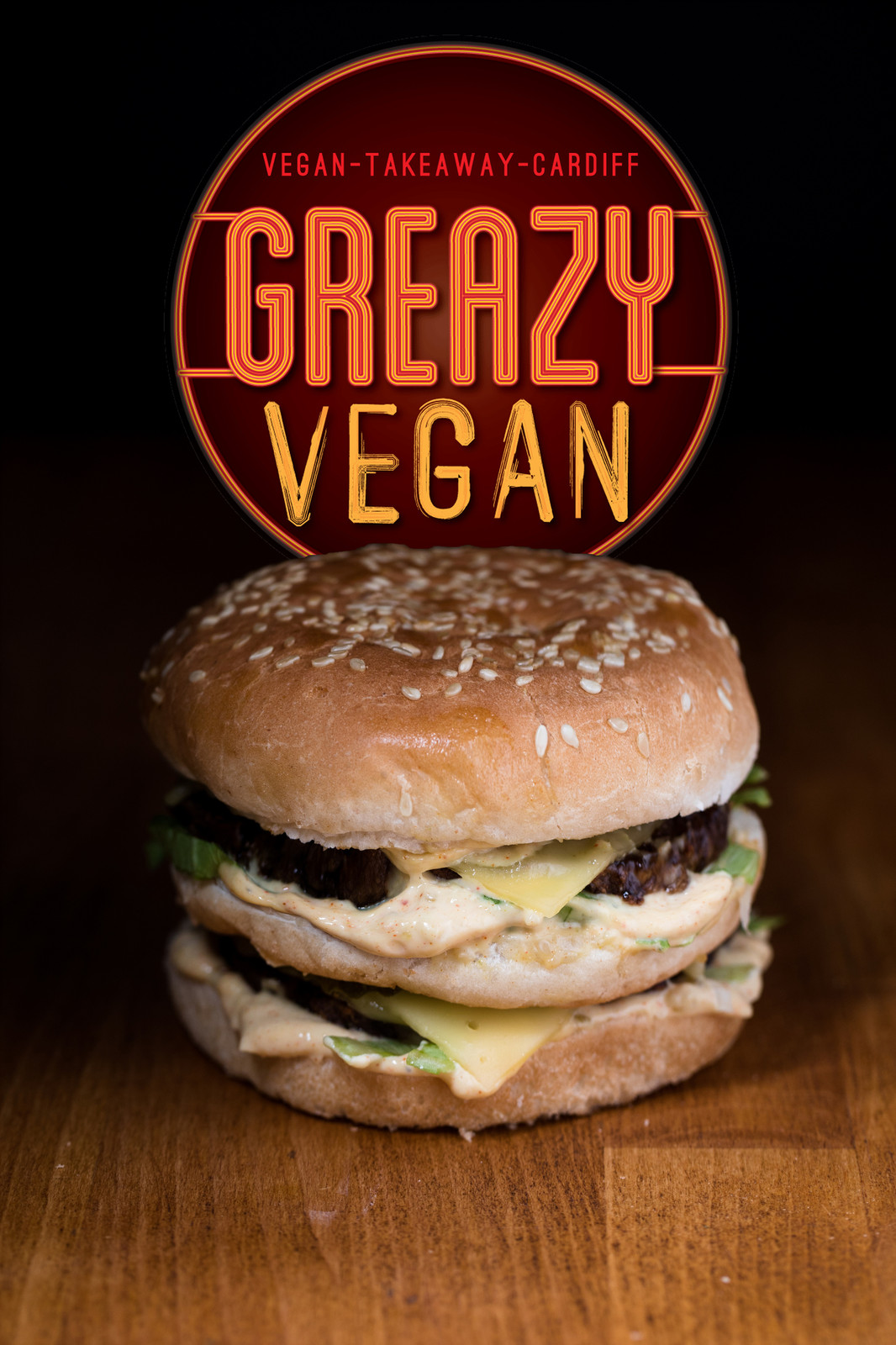 greazy vegan