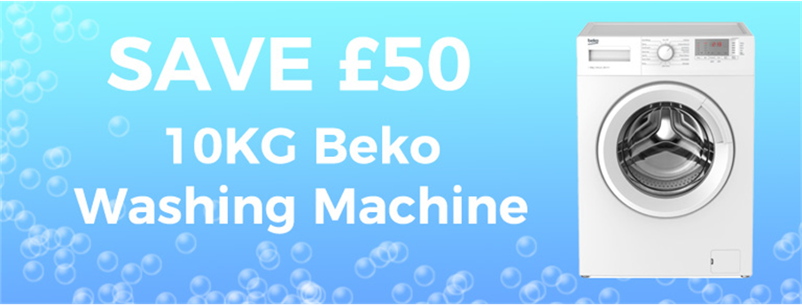 Save £50 on a 10KG Washing Machine!