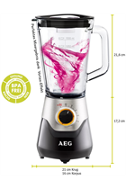 AEG 5 Series SB5700BK Black Blender