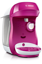 Tassimo By Bosch Happy TAS1001GB Purple & White Pod Coffee Machine