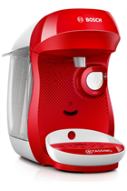 Tassimo By Bosch Happy TAS1006GB Red & White Pod Coffee Machine