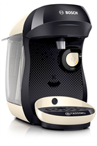 Tassimo By Bosch Happy TAS1007GB Black & Cream Pod Coffee Machine