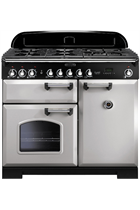 Rangemaster Classic Deluxe CDL100DFFRP/C 100cm Royal Pearl Dual Fuel Range Cooker