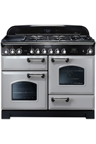 Rangemaster Classic Deluxe CDL110DFFRP/C 110cm Royal Pearl Dual Fuel Range Cooker