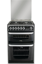 Hotpoint CH60DHKFS 60cm Dual Fuel Black Cooker