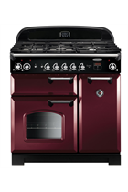 Rangemaster Classic CLA90DFFCY/C 90cm Cranberry Dual Fuel Range Cooker