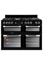 Leisure Cuisinemaster CS110F722K 110cm Black Dual Fuel Range Cooker