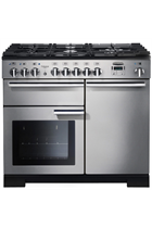 Rangemaster PDL100DFFSS/C Stainless Steel 110cm Professional Deluxe