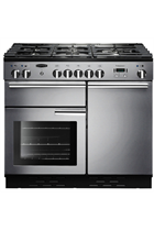 Rangemaster Professional Plus PROP100DFFSS/C 100cm Stainless Steel Dual Fuel Range Cooker