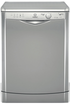 Indesit Eco Time DFG15B1S Silver 13 Place Settings Dishwasher