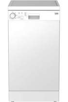 Beko DFS05C10W White Slimline 10 Place Settings Dishwasher