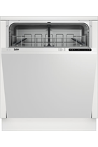 BEKO DIN14C10 12 PLACE SETTING FULLY INTEGRATED DISH WASHER