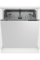 Beko DIN15C10 Integrated White 14 Place Settings Dishwasher