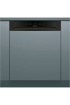 Hotpoint Aquarius HBC2B19 Semi Integrated Stainless Steel 13 Place Settings Dishwasher