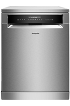 Hotpoint Aquarius HFP4O22WGCX Stainless Steel 14 Place Settings Dishwasher