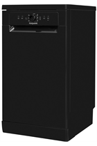 Hotpoint HSFE1B19BUK Black Slimline 10 Place Settings Dishwasher