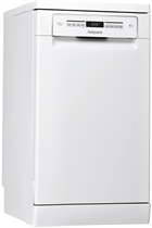 Hotpoint Ultima HSFO3T223W White Slimline 10 Place Settings Dishwasher