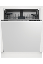 Blomberg LDV42124 Integrated Stainless Steel 14 Place Settings Dishwasher