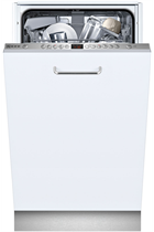 NEFF N50 S583C50X0G Integrated Stainless Steel Slimline 9 Place Settings Dishwasher