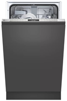 NEFF N50 S875HKX20G Integrated Stainless Steel Slimline 9 Place Settings Dishwasher