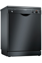 Bosch Serie 2 SMS25AB00G Black 12 Place Settings Dishwasher