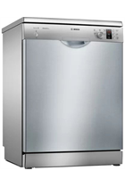 Bosch Serie 2 SMS25AI00G Silver 12 Place Settings Dishwasher