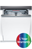Bosch Serie 6 SMV68MD00G Integrated Stainless Steel 13 Place Settings Dishwasher