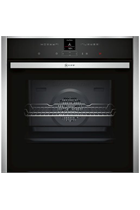 NEFF N70 B27CR22N1B Stainless Steel Pyrolytic Built-In Electric Single Oven