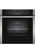 NEFF N50 B3ACE4HN0B Stainless Steel Slide&Hide Built-In Electric Single Oven