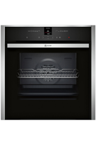 NEFF N70 B47CR32N0B Stainless Steel Slide&Hide Built-In Electric Single Oven