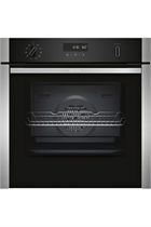 NEFF N50 B6ACH7HN0B Stainless Steel Pyrolytic Slide&Hide Built-In Electric Single Oven
