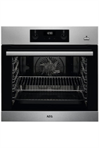 AEG BES255011M Stainless Steel Built-In Electric Single Oven