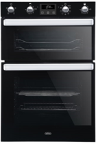 Belling BI902FP Black Built-In Electric Double Oven