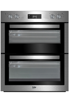 Beko BTF26300X Stainless Steel Built-Under Electric Double Oven