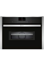 NEFF N90 C27MS22H0B Stainless Steel Pyrolytic Built-In Combination Oven with HomeConnect