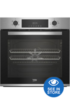 Beko CIFY81X Stainless Steel Built-In Electric Single Oven