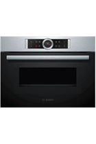Bosch Serie 8 CMG633BS1B Stainless Steel Built-In Combination Oven