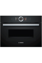 Bosch Serie 8 CMG656BB6B Black Built-In Combination Oven