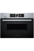 Bosch Serie 8 CMG656BS6B Stainless Steel Built-In Combination Oven