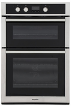 Hotpoint DD4544JIX Built-In Double Oven