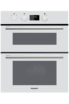 Hotpoint Class 2 DU2540WH White Built-Under Electric Double Oven