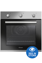 Candy FCP403X Stainless Steel Built-In Electric Single Oven