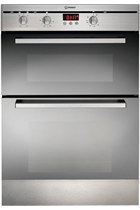 Indesit FIMD23IXS Built-In Stainless Steel Double Oven