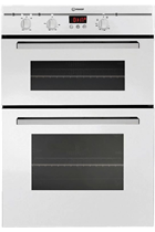 Indesit FIMD23WH White Built-In Double Oven
