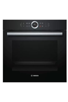 Bosch Serie 8 HBG634BB1B Black Built-In Electric Single Oven