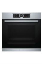 Bosch Serie 8 HBG634BS1B Stainless Steel Built-In Electric Single Oven