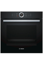 Bosch Serie 8 HBG674BB1B Black Built-In Electric Single Oven