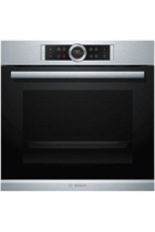 Bosch Serie 8 HBG674BS1B Stainless Steel Built-In Electric Single Oven