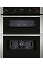 NEFF N50 J1ACE2HN0B Stainless Steel Built-Under Electric Double Oven