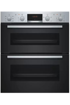 Bosch Serie 2 NBS113BR0B Stainless Steel Built-Under Electric Double Oven